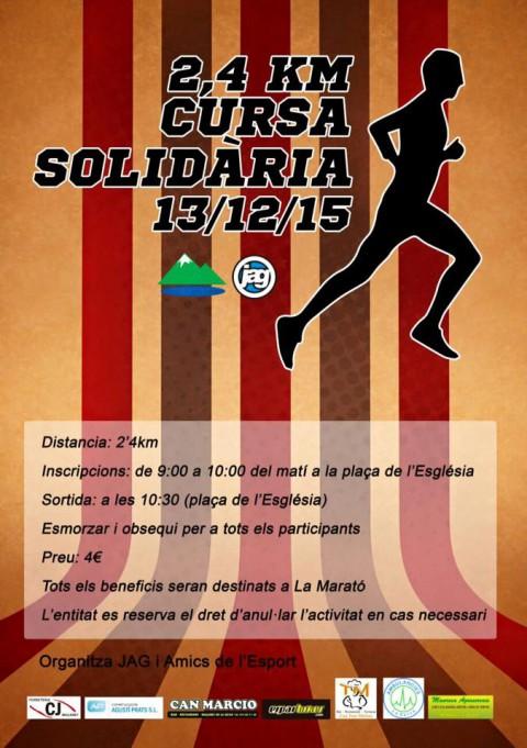 Cursa Solidària - Maçanet corre per la Marató