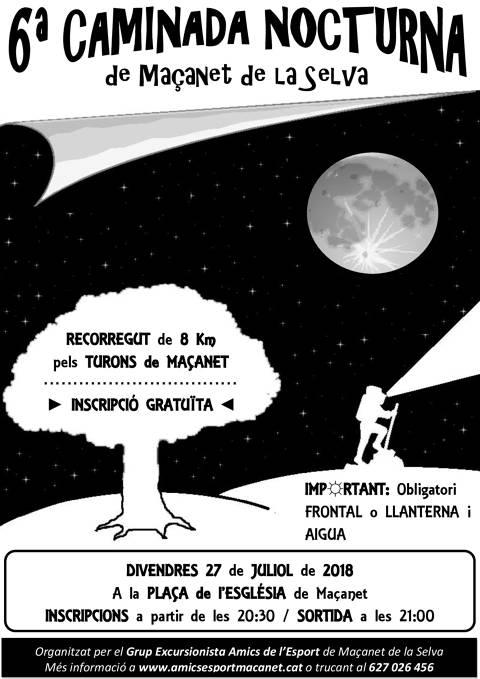 6ª Caminada Nocturna de Maçanet de la Selva